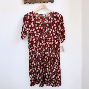 Vintage Jane Ashley | Floral Button Up Dress